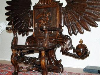 Украинец сделал трон для президента России