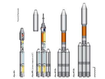 Роскосмосу оказались не нужны новые ракеты