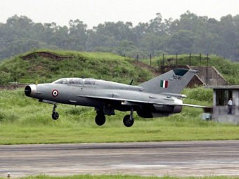 В Индии разбился пятый за год МиГ-21