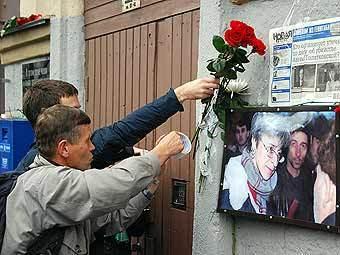 Подозреваемый в организации убийства Политковской отказался от адвоката
