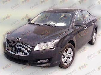 Китайцы готовят к выпуску седан в стиле Bentley