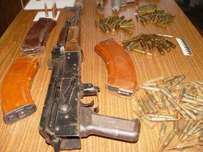 У жителя Сычевки стражи порядка обнаружили арсенал оружия и наркотики