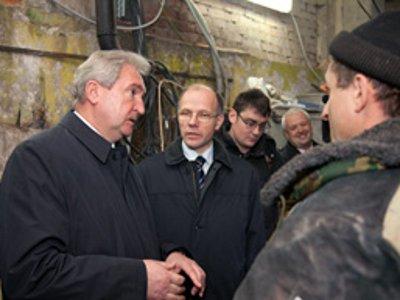 Губернатор проинспектировал проблемный теплопункт Смоленска
