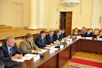 Совещание по вопросам газификации региона