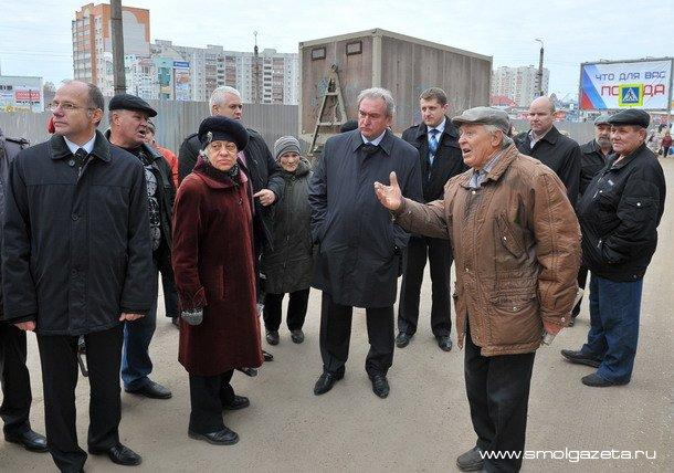 Что волнует жителей Киселёвки в Смоленске?
