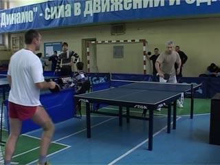 В Смоленске таможенники ЦФО встретились на турнире по настольному теннису