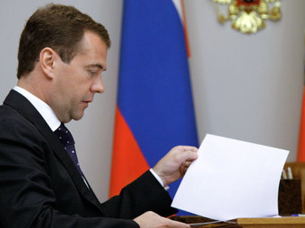 ЦИК опубликовал доходы Медведева