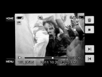 Опубликовано фото арестованного Каддафи