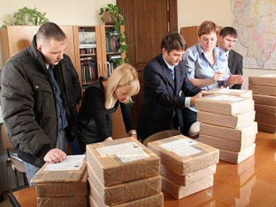 Облизбирком получил марки для новых комплексов обработки бюллетеней