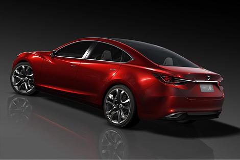 Прототип новой Mazda6 покажут в Токио