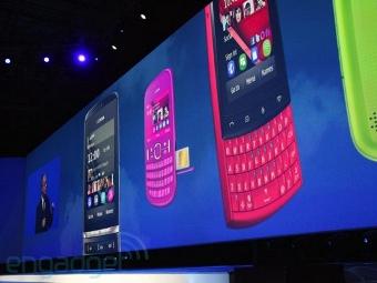 Nokia анонсировала линейку бюджетных аппаратов Asha