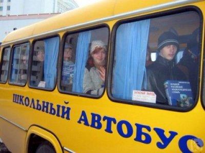 Водителей школьных автобусов автоинспекторы уличили в нарушении правил езды
