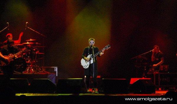 «Сурганова и оркестр» представили в Смоленске новый альбом