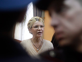 Юлию Тимошенко посадили