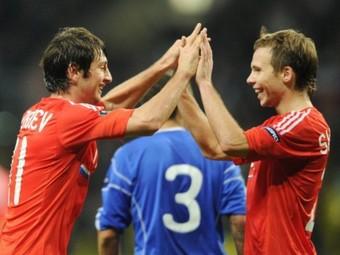 Россия разгромила Андорру и прошла на Евро-2012