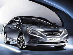 Седан Hyundai Sonata обзавелся навигацией по России