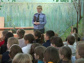 Смоленские полицейские провели уроки для школьников