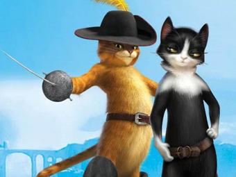 «Кот в сапогах» поставил рекорд в российском прокате