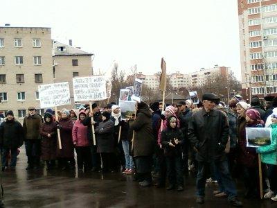 Смоляне выступили против застройки Реадовского парка