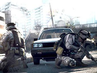 Battlefield 3 занял вершину британского чарта
