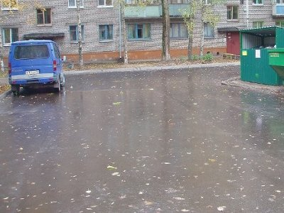 До первого снега успели завершить ремонт дворов лишь в Заднепровском районе