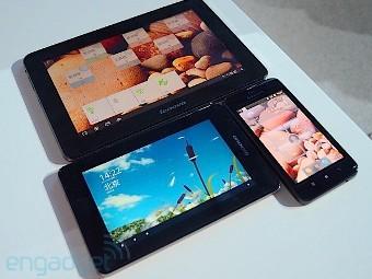 Lenovo подтвердила слухи о «смартфонопланшете»