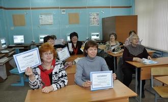 Смоленских пенсионеров привели в Интернет