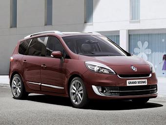 Компания Renault обновила компактвэны Scenic