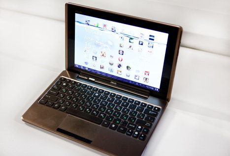 ASUS в 2012 году увеличит производство планшетов на 40%
