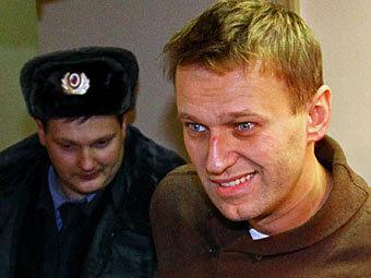 Навальный арестован на 15 суток