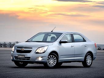 Chevrolet представит в России бюджетный седан Cobalt