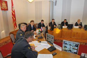 Заседание областной комиссии по обеспечению безопасности дорожного движения