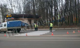 Пешеходный переход на Дзержинского стал заметнее