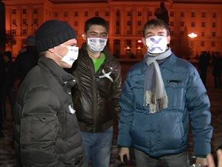 В Смоленске акция несогласия с результатами выборов прошла мирно