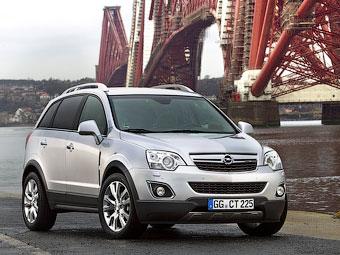 Стали известны российские цены на обновленный Opel Antara