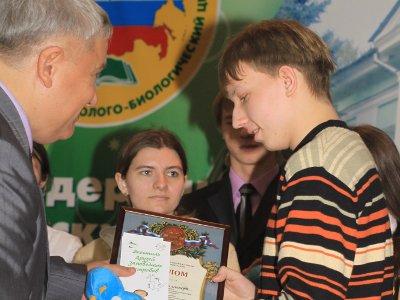 Смолянин занял третье место на всероссийской эколого-биологической олимпиаде