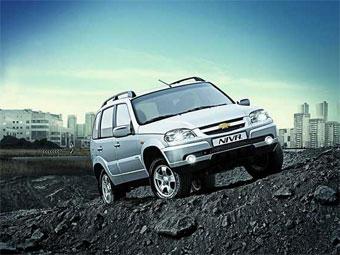 C нового года внедорожники Chevrolet Niva подорожают