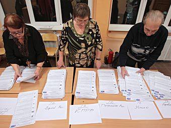 «Единая Россия» лидирует на выборах в законодательные собрания
