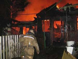 В Смоленской области из горящего дома спасены пятеро детей