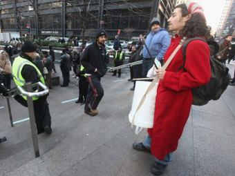 В Нью-Йорке вновь арестовали участников акции протеста