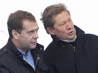 Медведев и Миллер заявили о новых газовых претензиях к Украине