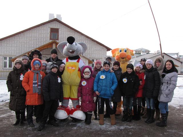 Для ребят из реабилитационных центров организовали зимнюю спартакиаду