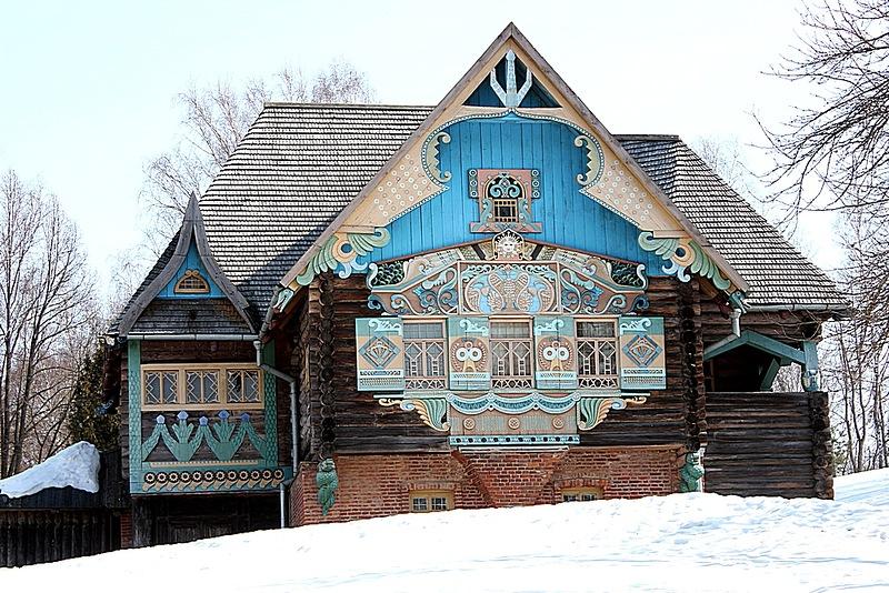 В музее «Теремок» поставили спектакль в традициях тенишевского домашнего театра