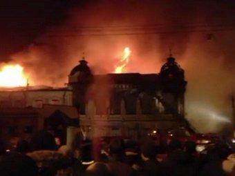 В Армавире сгорел педагогический университет