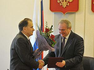Сергей Антуфьев поздравил Алексея Орлова с 75-летним юбилеем