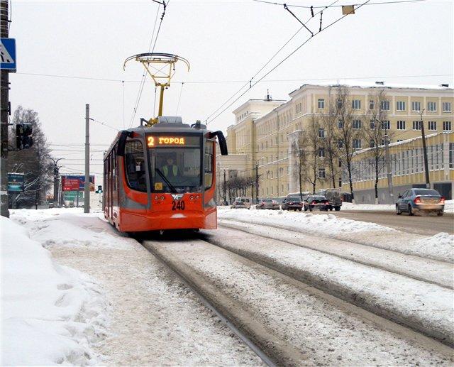 Движение трамваев в сторону Рославльского кольца возобновится лишь к июлю