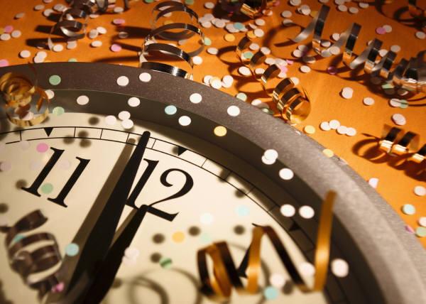 Россия вступила в новый год