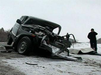 В результате ДТП под Оренбургом погибли шесть человек