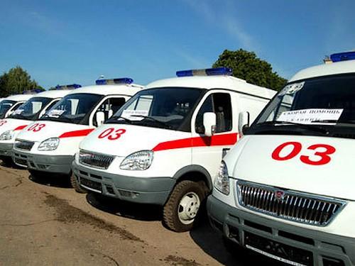 Современные машины скорой помощи – медучреждениям Смоленщины