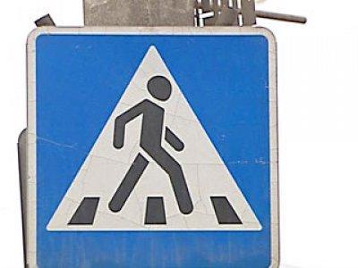 Благодаря «Охоте на зебру» пешеходные переходы в Смоленской области приводят в порядок